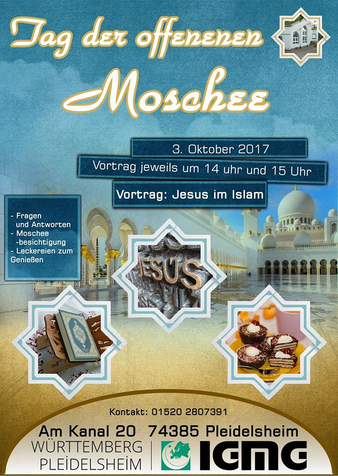Tag der offenen Moschee 2017
